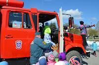Выставка пожарной техники