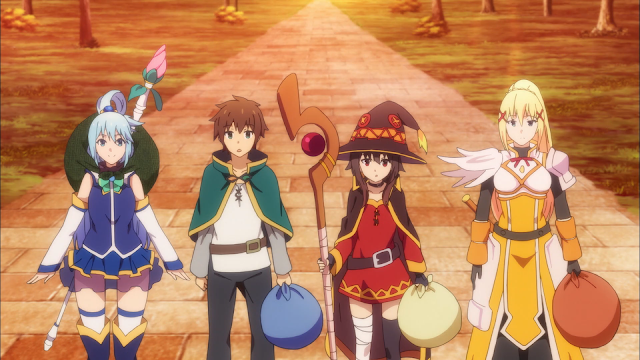 KonoSuba: God's Blessing on this Wonderful World! dungeon RPG Coming to PS4 and PS Vita