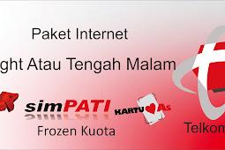 Paket Internet Midnight Harian, Mingguan & Bulanan Termurah Telkomsel