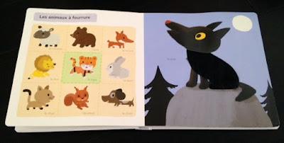 Mon grand imagier à toucher - Editions MILAN JEUNESSE - Les animaux à fourrure