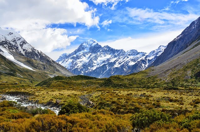 Aoraki Mount Cook New Zealand - My Travel Bucket list