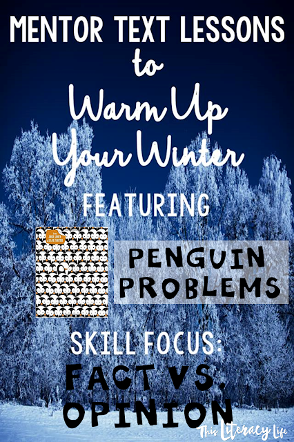 Fact and opinion can be tough, but these penguins sure do make it fun! The mentor text Penguin Problems helps students learn about penguins in a fun way too!