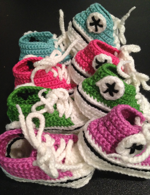 Baby Converse Crochet Pattern Ventes Flash