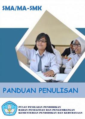 Buku Pedoman / Panduan Penulisan Soal SD/MI SMP/MTs SMA/MA-SMK Tahun 2017 Puspendik Balitbang Kemdikbud