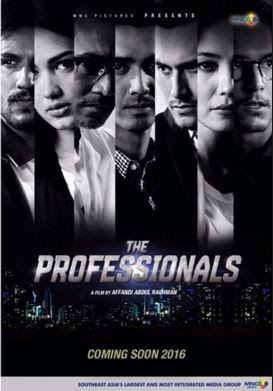 Poster Film The Professionals