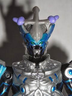 """A close up for the 4"""" Vrak figure"""