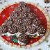 Χριστουγεννιάτικο δέντρο από μπισκότα