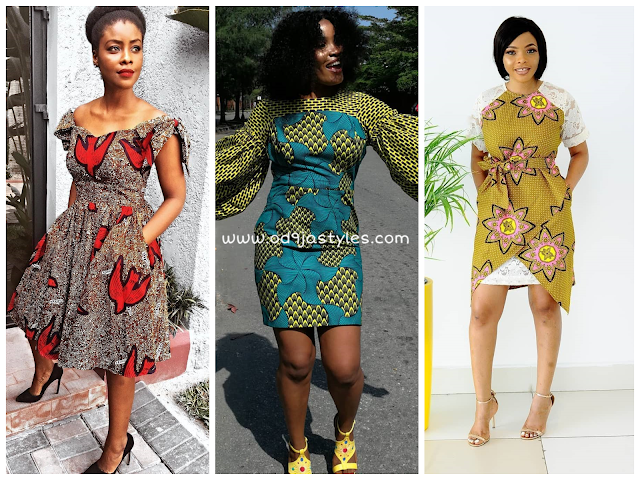 Photos of Hot and Colorful Ankara dresses for Real Fashionistas