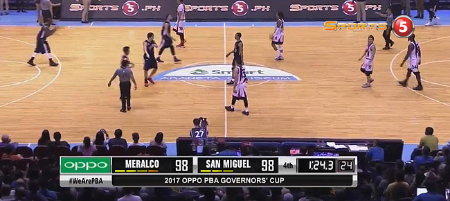 Meralco def. San Miguel, 104-101 (REPLAY VIDEO) September 24