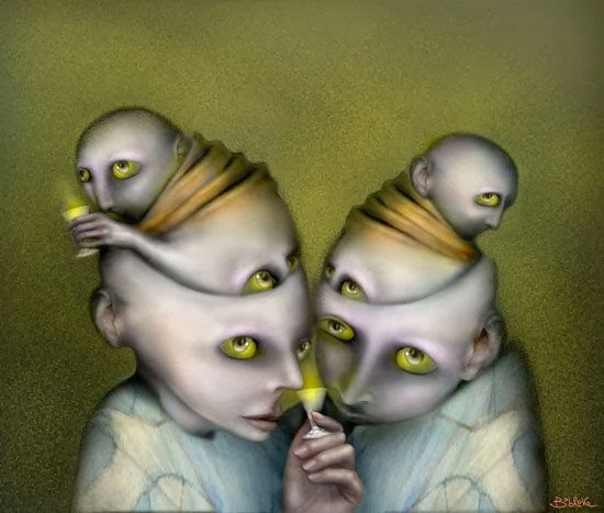 Hypnotic Strange Creatures in a Surreal World By Svetlana Bobrova