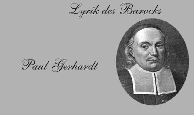 Paul Gerhardt- Barockdichter