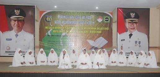 Dharma Wanita Persatuan, Kep. Selayar, Peringati Isra'Mi'raj 1438 H
