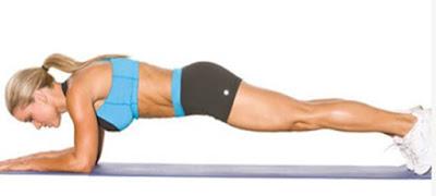 plank hareketi egzersizleri