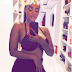 BBA star, Dillish Mathews sexy mirror selfie