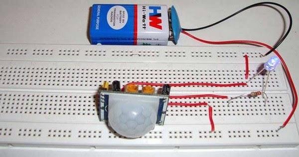 Schema electronique detecteur de mouvement - Schema electronique detecteur de mouvement ...
