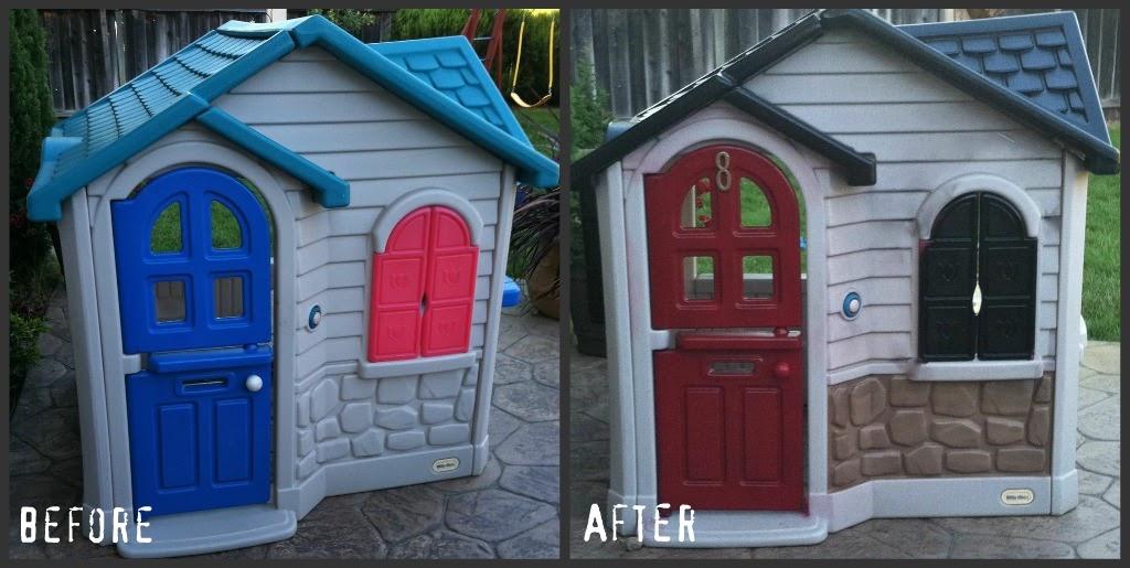Dwelling By Design Diy My Playhouse Redo