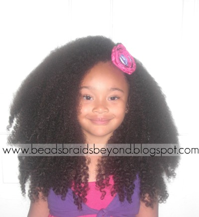 Big Stretched Out Curls- A How To