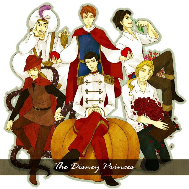 Imágenes de Príncipes Disney.