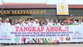 Gelombang Pendemo Aksi bela Islam II dari Riau