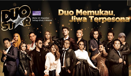 konsert duo star 2016 minggu 1, konsert pertama duo star 2016, senarai lagu konsert minggu 1 duo star astro 2016, gambar duo star astro, duo star malaysia