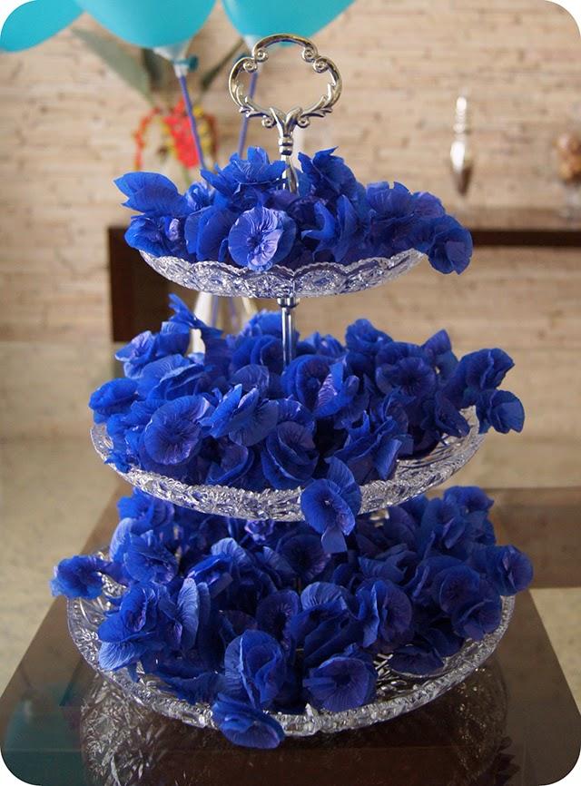 Decoração Aniversário Surpresa do Namorado com Bala Delícia no Rococó