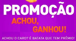 Cadastrar Promoção AM/PM 2017 Achou Ganhou Batata Que Tem Prêmio