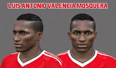 Luis Antonio Valencia Mosquera by Ozy_96 Pes Mod