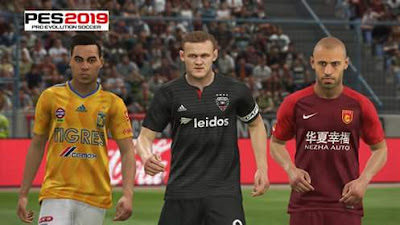 PES 2019 Addon MLS, Liga MX, CSL for PTE 2019 Season 2018/2019 by Sudamerican Patch
