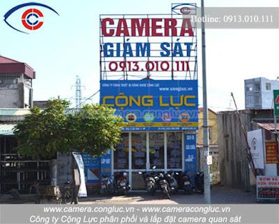 Đơn vị cung cấp, thi công lắp đặt camera uy tín số 1 tại Hải Phòng.