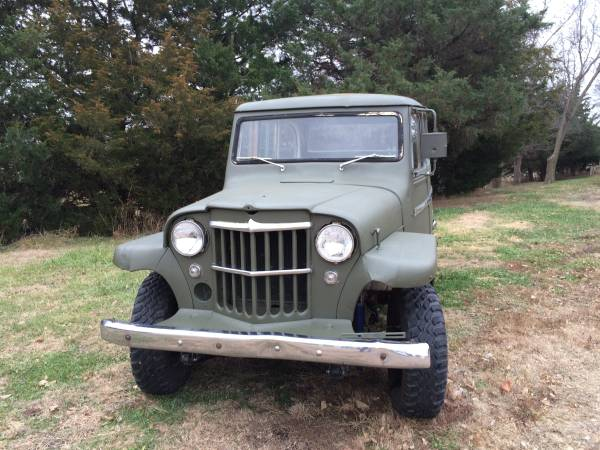 1962 Jeep Willys Overland 4x4 For Sale