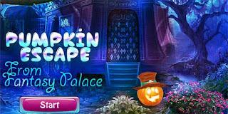 Pumpkin Escape From Fantasy Palace Solución