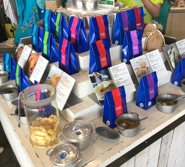 Le Fangourin, Mauritius, sugar tasting