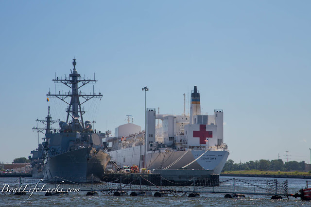 Navy Ships, Hampton Roads