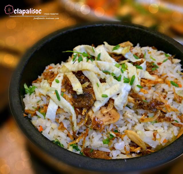 Smoked Fish Fried Rice from Krazy Garlik