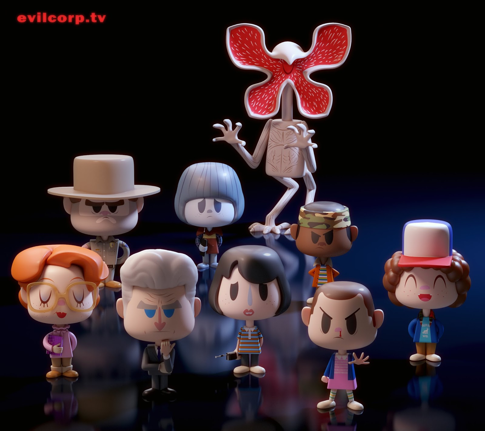 Stranger Things Toys : Things to do in los angeles stranger toys by evil corp