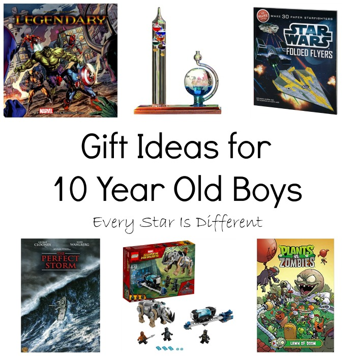Gift Ideas for 10 Year Old Boys