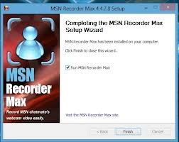 MSN Recorder Max 4.4.7.8 Latest 2013 Full And Final Version With Keygen Free Download