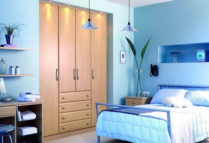 warna cat kamar tidur biru muda 6