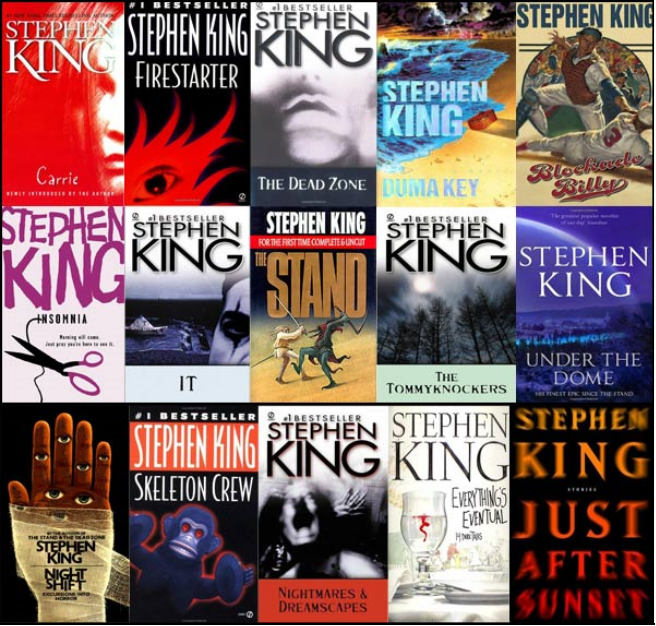 Princess Peach's Collections: Stephen King Ebooks Collection