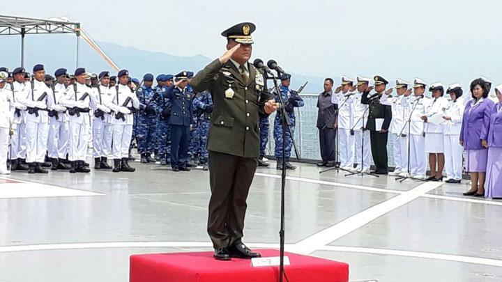 Sampaikan 2 Hal Terkait HUT TNI Ke-72, Jenderal Gatot Makin Dicintai Rakyat