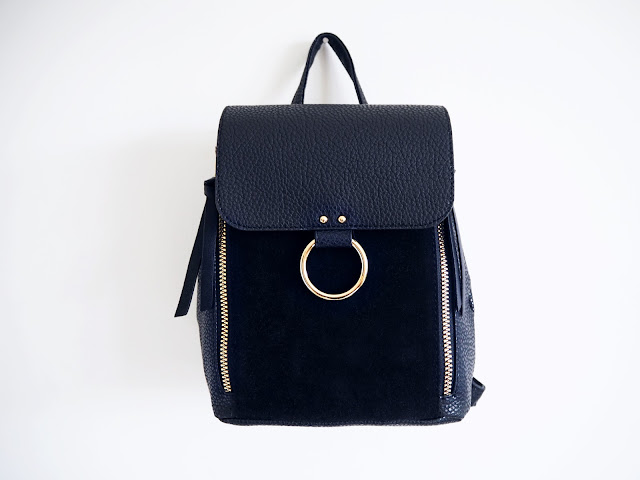 Primark Gold Hoop Backpack