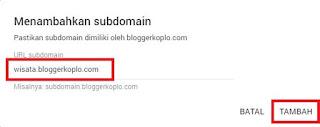 Cara Menambahkan Sub-Domain (Add Site) ke Google Adsense
