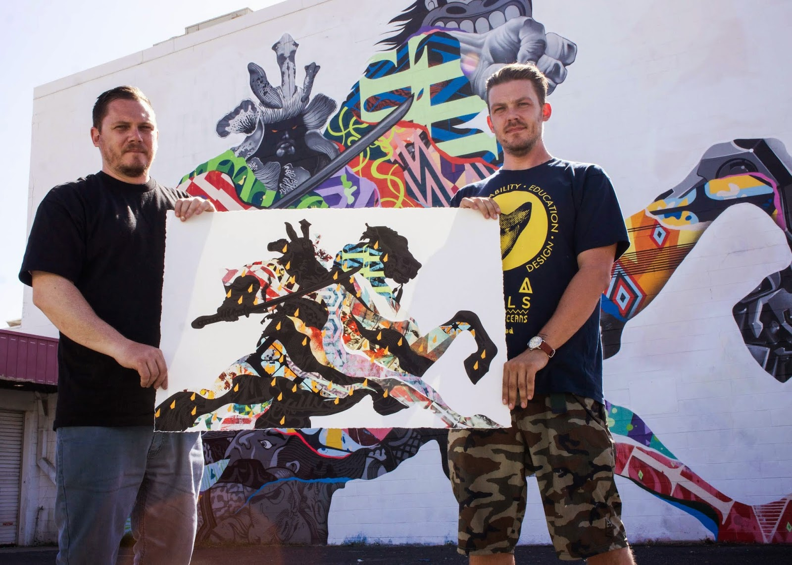 """Our friends Tristan and Mattew Eaton are set to release a brand new edition entitled """"Musashi"""" via their website."""