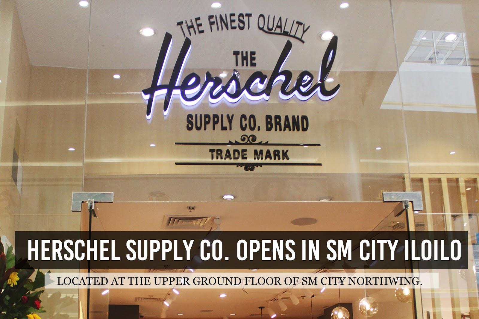 5b012bd87d HERSCHEL SUPPLY CO OPEN IN SM CITY ILOILO