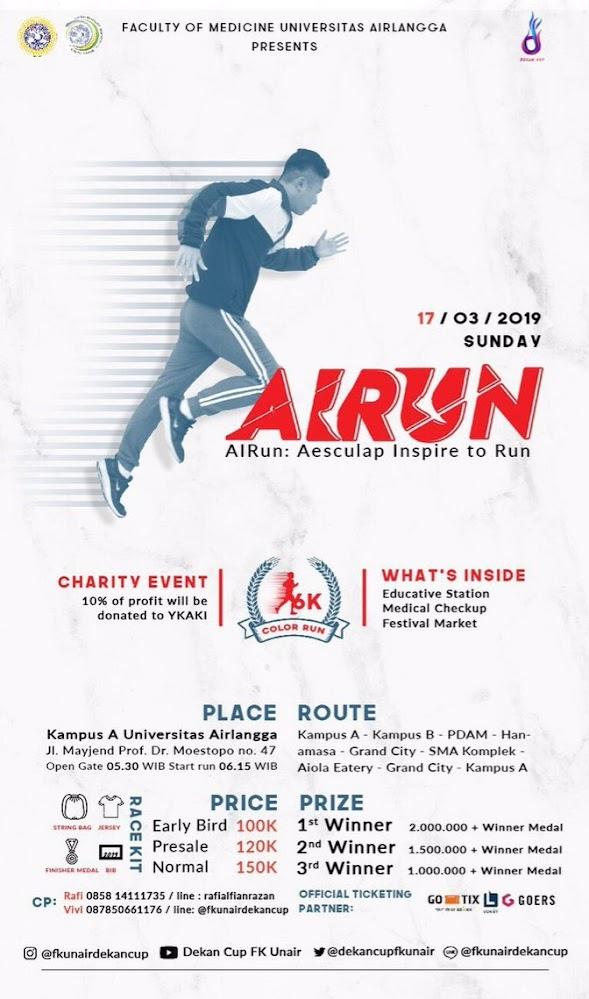 FK Unair AIRun - Aesculap Inspire to Run • 2019