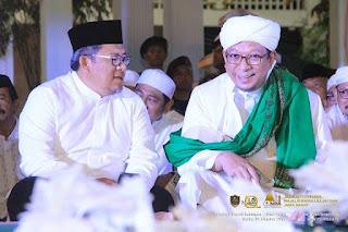 kang aher bersama alhabib quraisy baharun