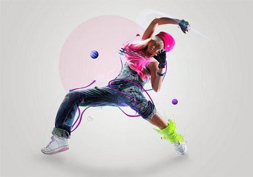 Manipulate A Dancer Illustration In Photoshop