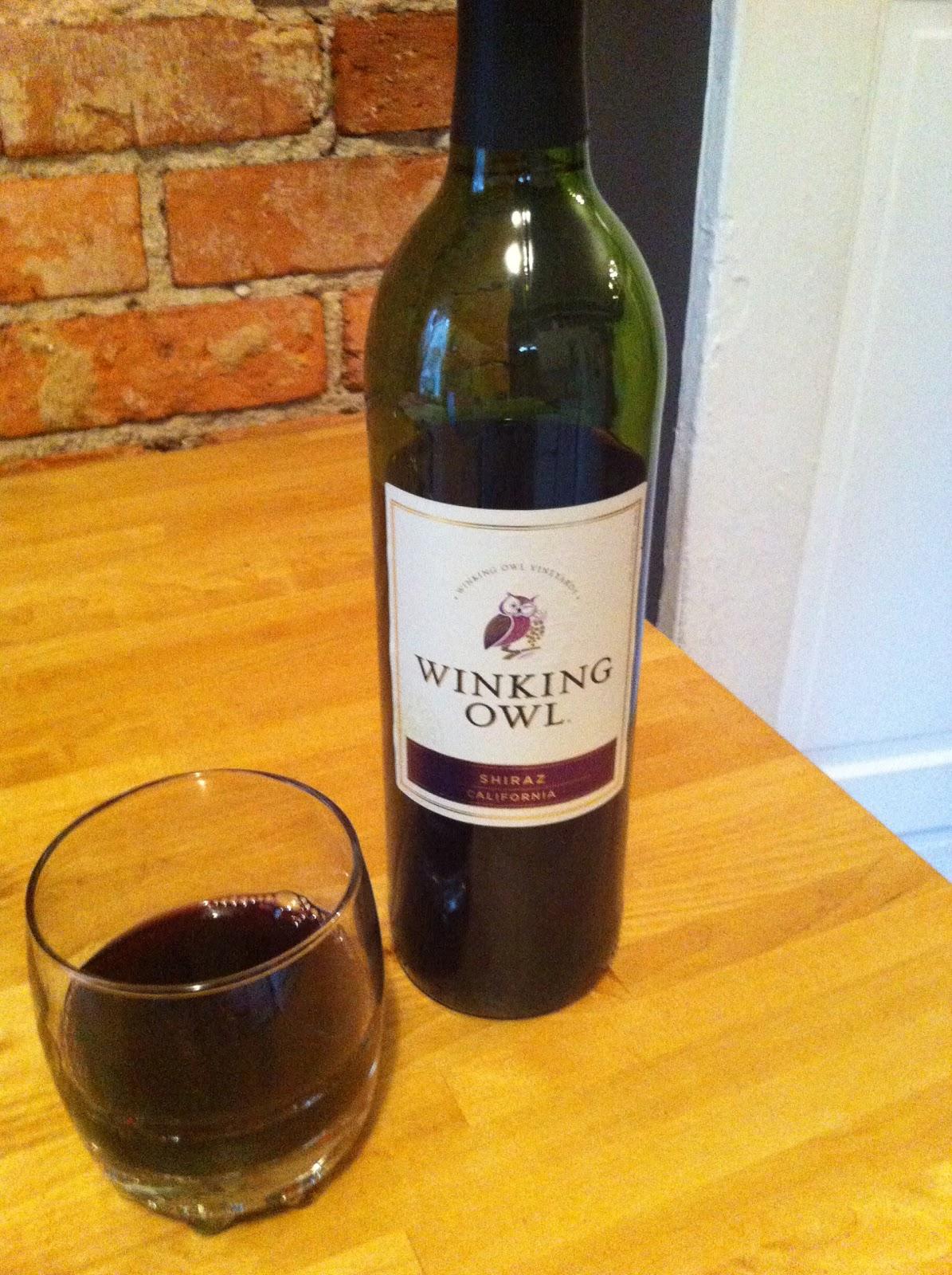 winking owl wine price
