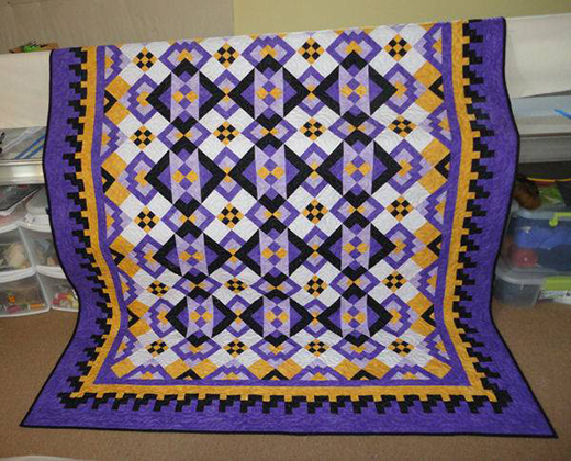 Road to Llano Quilt Free Pattern Designed by Judy Laquidara of Patchwork Times