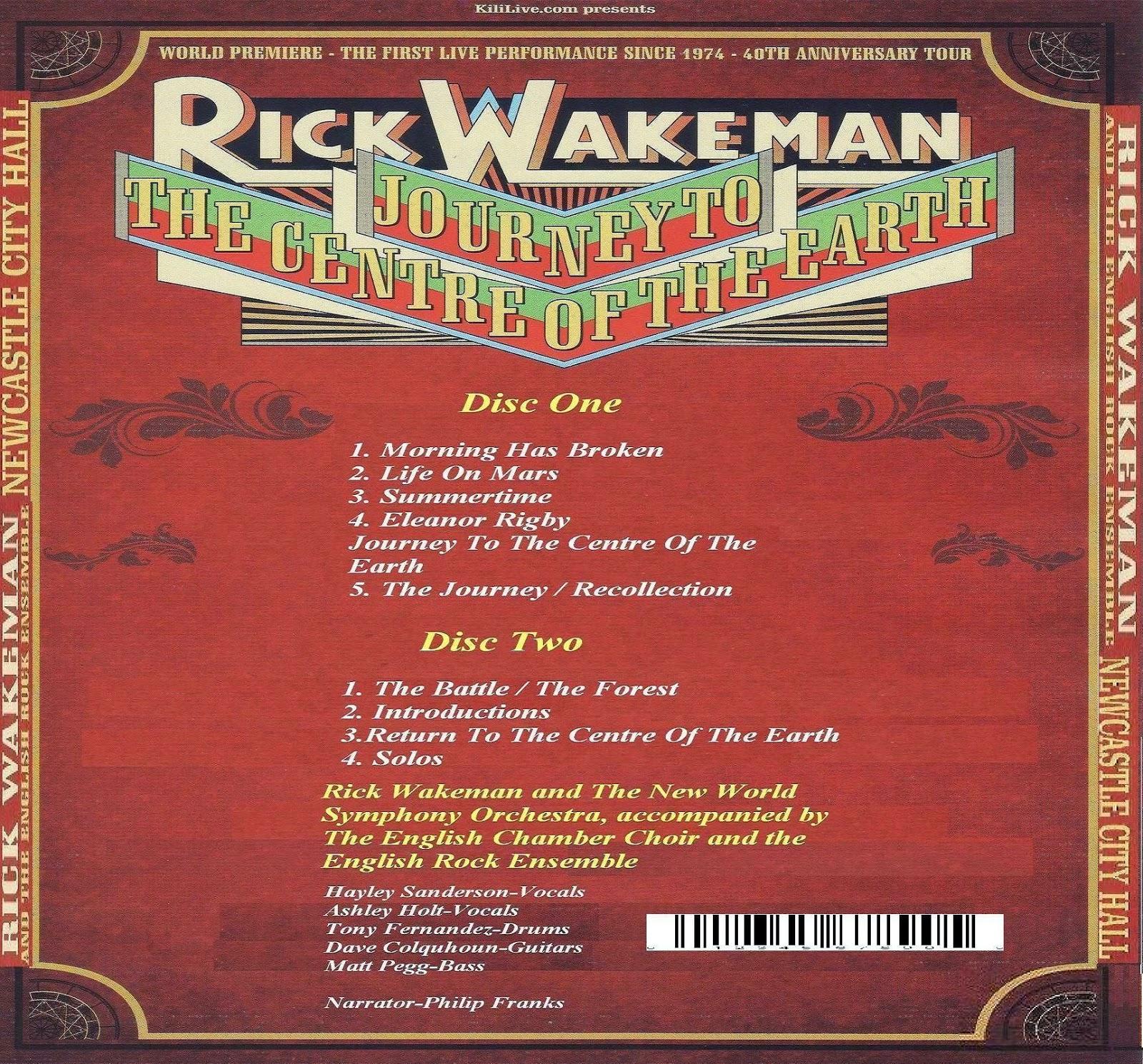PLUMDUSTY'S PAGE: Rick Wakeman 2014-04-24 Newcastle City ...